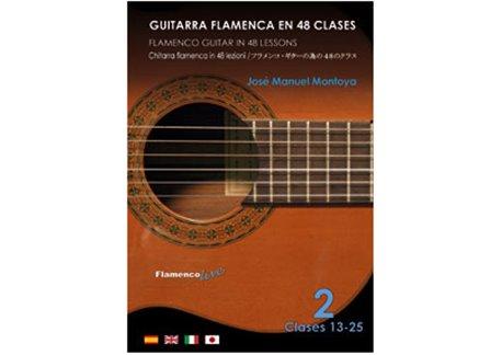 Flamenco Guitar in 48 lessons V. 2 (dvd + libreto)