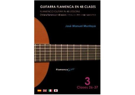 Flamenco Guitar in 48 lessons V. 3 (dvd + libreto)