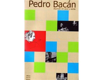 Pedro Bacán. Aluricán en azul y verde
