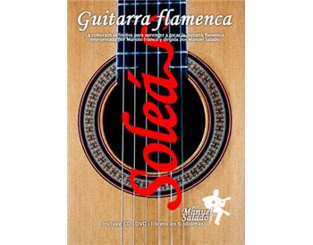 Guitarra Flamenca vol. 1. SOLEÁ. DVD + CD