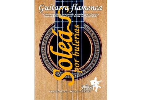 Guitarra Flamenca vol. 2. SOLEÁ POR BULERIAS. DVD + CD
