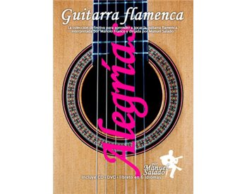 Guitarra Flamenca vol. 3. ALEGRIAS. DVD + CD