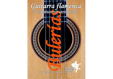 Guitarra Flamenca vol. 4. BULERIAS. DVD + CD