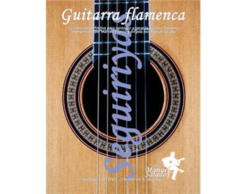 Guitarra Flamenca vol. 7. SEGUIRIYAS. DVD + CD