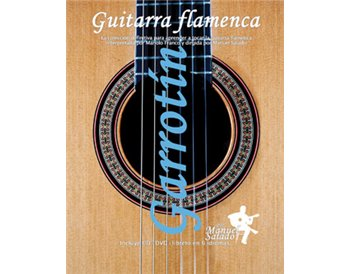 Guitarra Flamenca vol. 8. GARROTÍN. DVD + CD