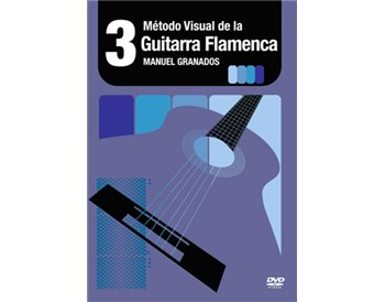 Método Visual de la  Guitarra flamenca DVD Vol.3