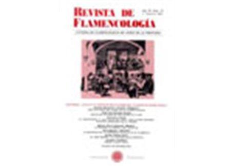 Revista de Flamencología. Año VII Núm. 13. 1º sem 2001