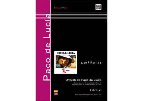 Paco de Lucía - Zyryab (partituras)
