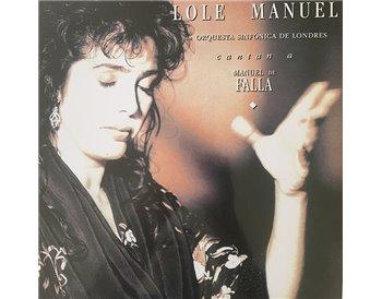 Lole y Manuel cantan a Manuel de Falla (Vinilo)