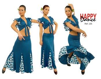 Falda flamenco 135