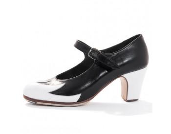 Zapatos de flamenco - Fuego