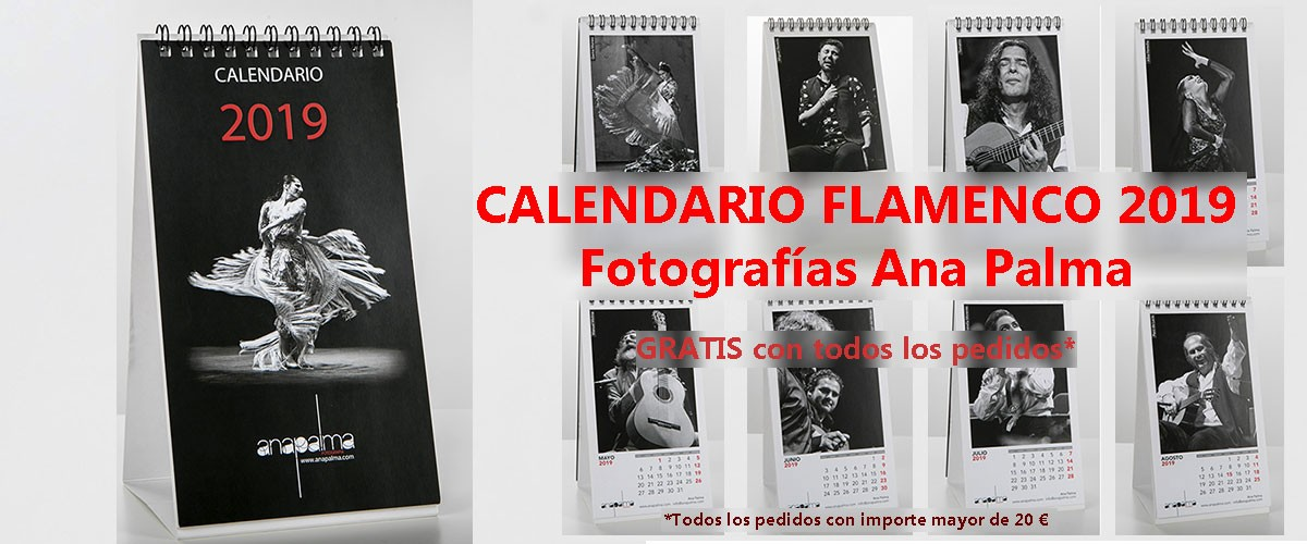 Calendario Flamenco 2019  Ana Palma
