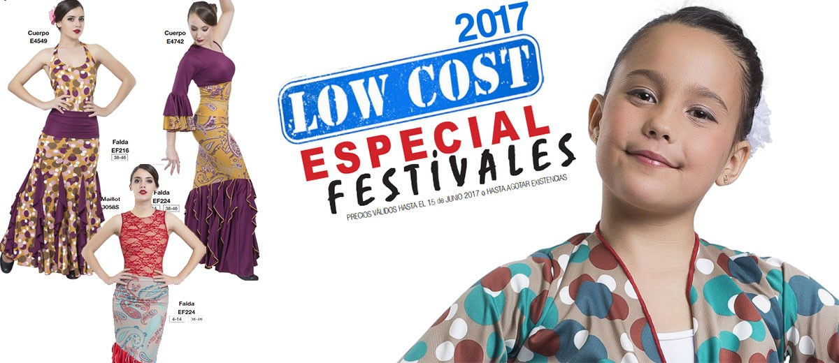 Low Cost - Oferta festivales