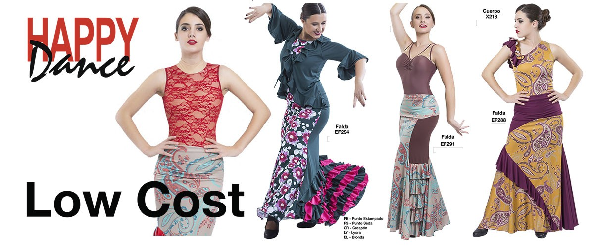 Low Cost - Vestuario Flamenco Happy Dance